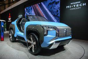 Ngắm 'dung nhan' xe địa hình mui trần Mitsubishi Mi-Tech
