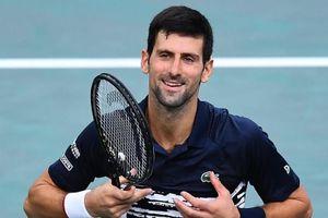 Djokovic lần thứ 6 vào chung kết Paris Masters