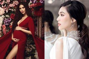 Loạt hình ảnh giúp Lan Khuê được ca ngợi là 'bà bầu đẹp nhất showbiz Việt'