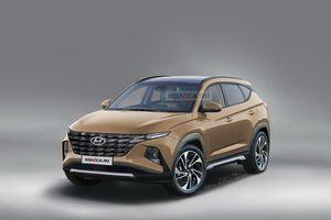 Hyundai Tucson 2021 sẽ ra mắt vào năm sau
