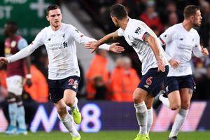 Aston Villa 1-2 Liverpool: Mane rực sáng phút cuối, giải cứu Liverpool