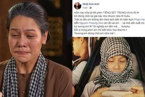 Bị chê khóc quá nhiều ở 'Tiếng sét trong mưa', Nhật Kim Anh lên tiếng: 'Nếu không làm theo sẽ bị cắt vai'