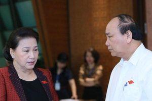 Thủ tướng và 4 Bộ trưởng trả lời chất vấn trước Quốc hội