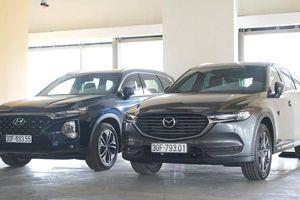 So sánh Hyundai Santafe cao cấp và Mazda CX-8 Premium AWD