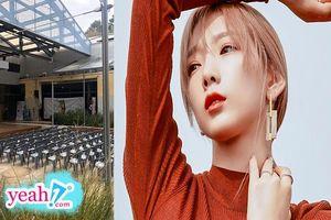 Sau màn comeback bùng nổ đi vào lịch sử Kpop, Taeyeon tổ chức fan meeting tạo địa điểm khiến fan tưởng họp tổ dân phố