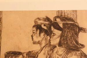 Xem vựng tập tranh của một bậc trưởng lão - họa sĩ Ngô Mạnh Lân
