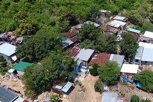 Cần di dời hàng trăm căn nhà khỏi tầm nguy hiểm sạt lở núi ở Nha Trang