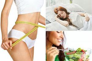 Bật mí 11 thói quen đơn giản giúp giảm cân mỗi ngày