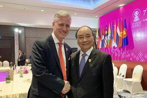 Thủ tướng Nguyễn Xuân Phúc tiếp lãnh đạo New Zealand, đặc phái viên Mỹ