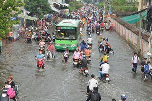 Thông tin 'TP HCM biến mất năm 2050': Triều cường, điểm đen ngập lụt ở Sài Gòn thế nào?