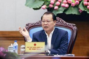 Thi hành kỷ luật cảnh cáo nguyên Phó Thủ tướng Vũ Văn Ninh