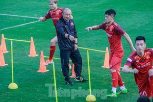HLV Park Hang Seo bắt đầu tăng tốc 'luyện binh'