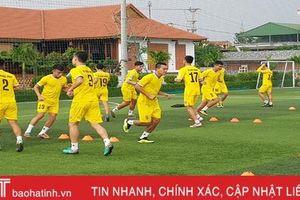 Thầy trò HLV Phạm Minh Đức hội quân chuẩn bị cho V.League 2020