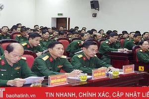 Đảng ủy Quân sự Hà Tĩnh thông báo nhanh kết quả Hội nghị Ban Chấp hành Trung ương 11