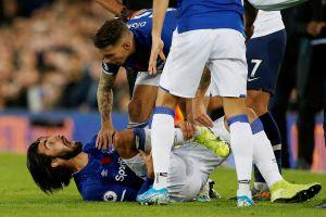 Chấn thương 'kinh hoàng' của Andre Gomes