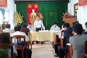 Dân bỏ về giữa buổi đối thoại, Chủ tịch Bình Định yêu cầu tạm dừng dự án