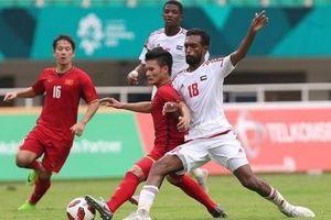 Báo chí UAE vô tình để lộ bí mật trước trận gặp Việt Nam