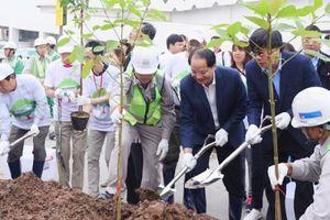Sự kiện trồng cây xanh thu hút hơn 1000 người tham gia tại AEON Hà Đông