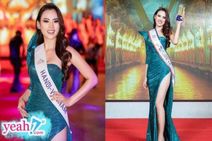 Người đẹp 9x Hà Vi Vi giành ngôi Á hậu Châu Á 2019