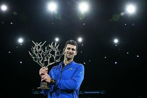Novak Djokovic vô địch Paris Masters