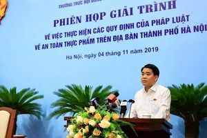 Lãnh đạo Hà Nội nhận trách nhiệm vụ nước sông Đà nhiễm dầu thải