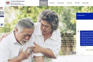 Hội tim mạch học Việt Nam thành lập đơn vị hỗ trợ thông tin cho người mắc bệnh động mạch vành