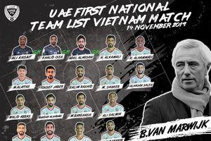 UAE tăng cường hàng phòng ngự cho trận gặp Việt Nam