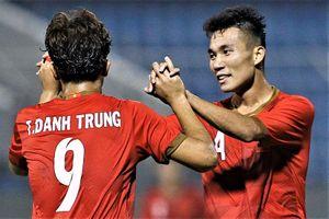 Danh Trung mở tỷ số cho U21 Việt Nam trước Sinh viên Nhật Bản