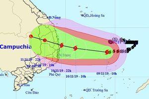 Tin bão khẩn cấp và các chỉ đạo ứng phó