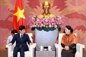Chủ tịch Quốc hội tiếp Đoàn đại biểu tỉnh Gunma (Nhật Bản)