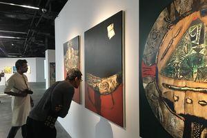 Trưng bày tác phẩm mỹ thuật của các nghệ sĩ tiêu biểu châu Á tại Hà Nội