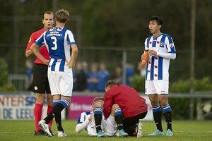 Đội trẻ Heerenveen thảm bại trong ngày Văn Hậu đá chính