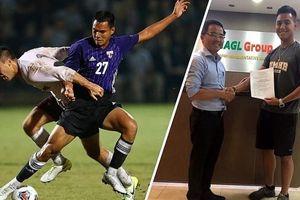 Hoàng Anh Gia Lai bất ngờ ký hợp đồng với cầu thủ Việt kiều Mỹ