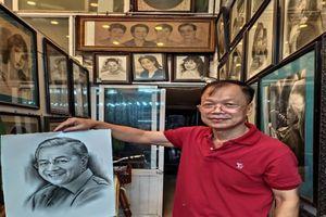 Nghệ nhân đất Thăng Long dành trọn tình yêu cho tranh truyền thần