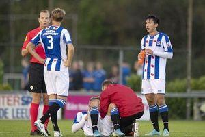Văn Hậu đá chính trong ngày Heerenveen thảm bại 0-6!