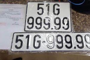 Thông tin mới nhất về chiếc xe BMW bốc được biển ngũ quý 9 ở Sài Gòn
