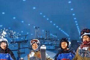 Những trải nghiệm mới tại tổ hợp giải trí tuyết ở Ninh Chữ