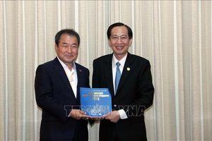 Lãnh đạo TP Hồ Chí Minh tiếp Thị trưởng TP Gymcheon, Hàn Quốc