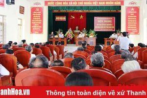 Đại biểu HĐND tỉnh tiếp xúc cử tri huyện Triệu Sơn