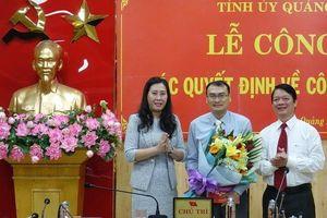 Nhân sự, lãnh đạo mới tại TP.HCM và Quảng Ngãi