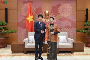 Chủ tịch Quốc hội tiếp Đoàn đại biểu tỉnh Gunma, Nhật Bản
