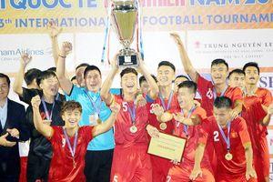 Việt Nam vô địch U21 Quốc tế