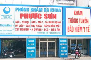 PKĐK Phước Sơn ở vùng ven Sài Gòn sử dụng nhân viên y tế 'dỏm'