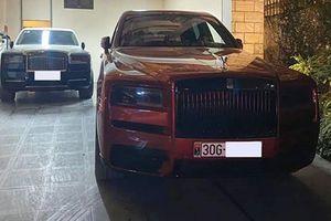 Bộ đôi Rolls-Royce Cullinan gần 100 tỷ ở nhà đại gia Hà Nội