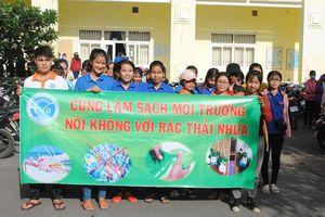 Phát động 'Nói không với sản phẩm nhựa sử dụng một lần' trong trường học Trà Vinh