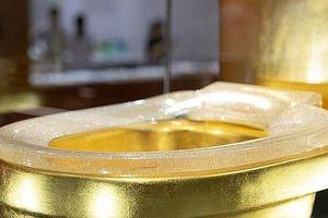 Trung Quốc: Toilet vàng 1,3 triệu USD đính 41.000 viên kim cương gây xôn xao