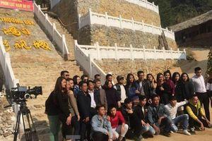 Xôn xao 'phim trường' bí ẩn ở Lạng Sơn
