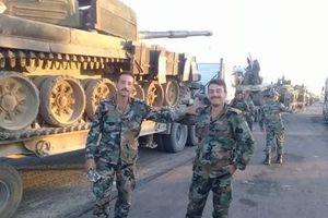 Quân đội chính phủ Syria chuyển vũ khí hạng nặng tới vùng đông bắc
