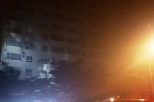 Nghệ An: Chung cư phát hỏa giữa đêm, hàng trăm người hoảng loạn tháo chạy