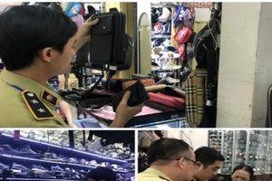 Truy quét 2 tụ điểm kinh doanh hàng giả 'khủng' tại TP.HCM